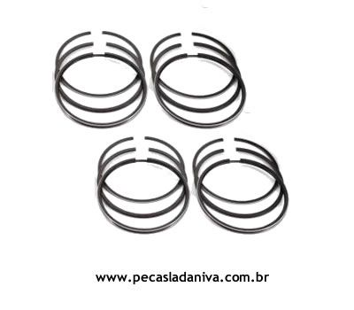 Jogo de Anéis do Motor Niva 1.6 Medida Stander (Novo) Ref. 0176