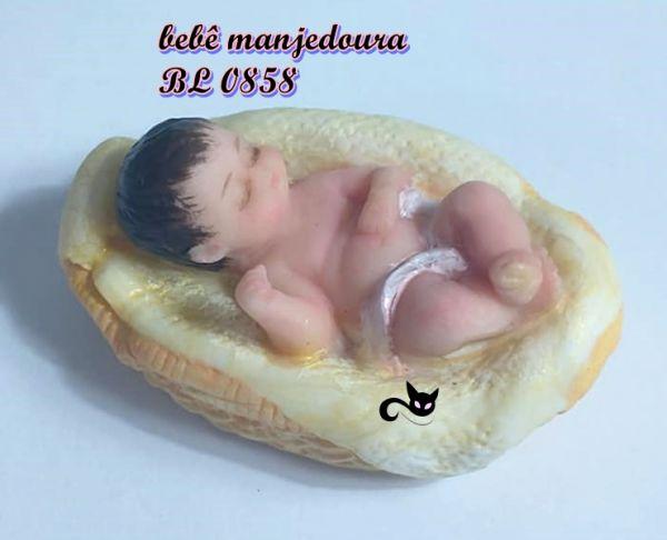 Bebê Jesus na manjedoura  ( 0858)