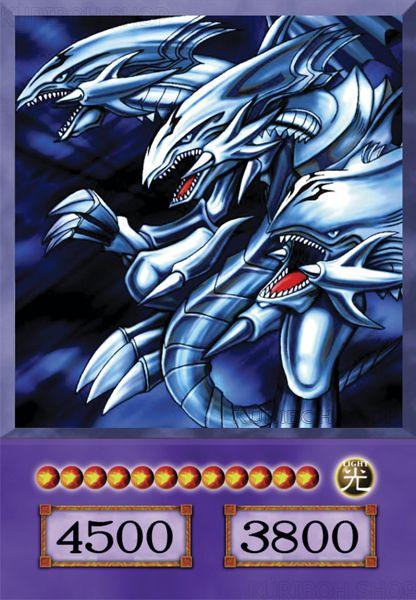 Dragão Definitivo de Olhos Azuis