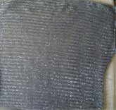 Blusa de linha prata