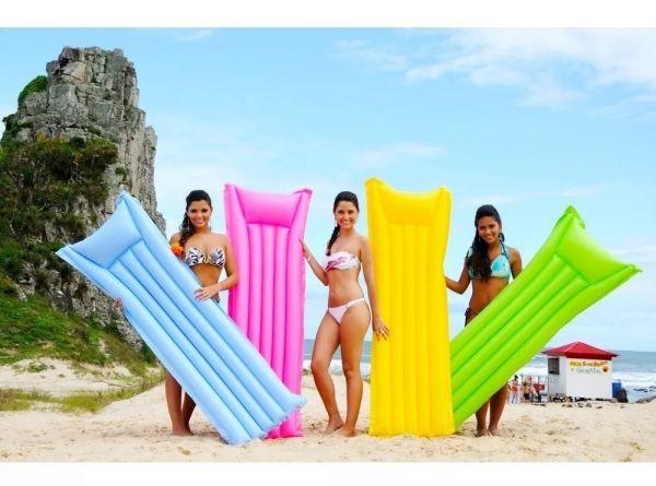 Boia Inflável Grande Para Piscina Praia Colorida Verão Mor
