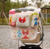 Bolsa e Organizadora para Carrinhos de Bebês