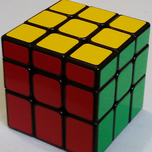 cubo mágico INEQUILATERAL COLORIDO YJ