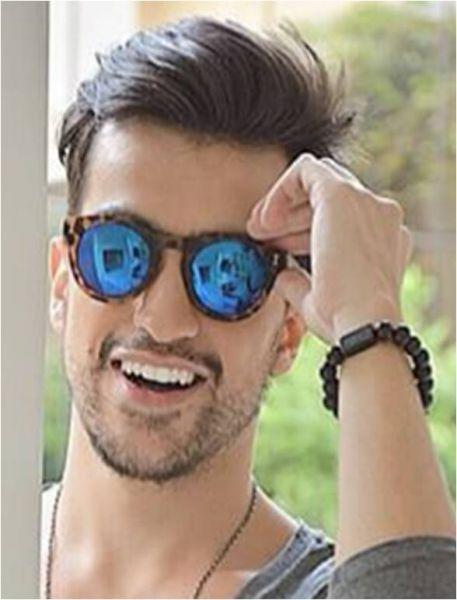 43a8da4ad Óculos Illesteva tartaruga com lente azul espelhado - Prime Gifs
