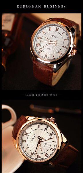 d682b87199f Relógio Masculino Yazole Social Luxo - TECLA STORE