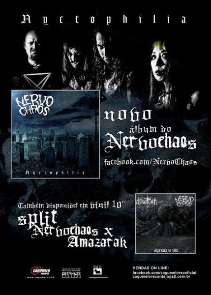 CD - NervoChaos – Nyctophilia