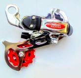 Câmbio traseiro manual para bicicleta de 7 velocidades