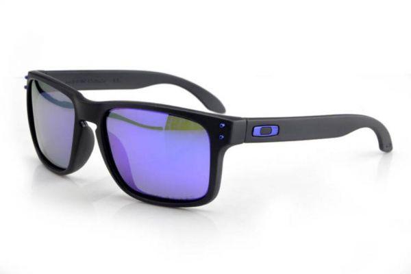 e6f6090715 Óculos de Sol Oakley Holbrook Azul - Lente Polarizada - Machado Express