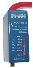 PQD-3N-2 DPS Classe II e III Trifásico (3x220V)  + Neutro 15kA