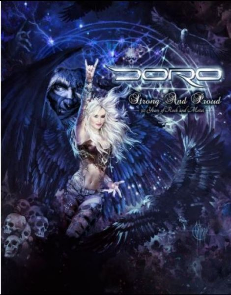 DORO - STRONG AND PROUD - 30 YEARS OF ROCK AND METAL (DVD TRIPLO)