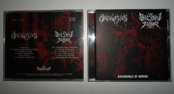 Orgy of Flies / Ancestral Terror - Bacchanals of Horror