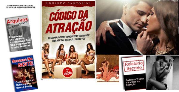 Curso de sedução (e-books) HOMEM SEDUZIR MULHER!