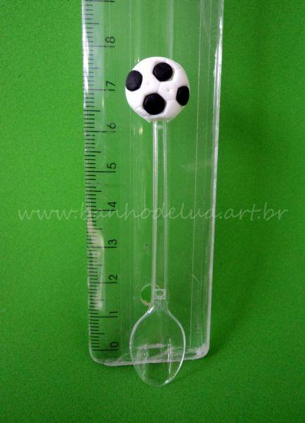 Molde de silicone bola futebol mini - Banho de Lua 649fb35b840d4
