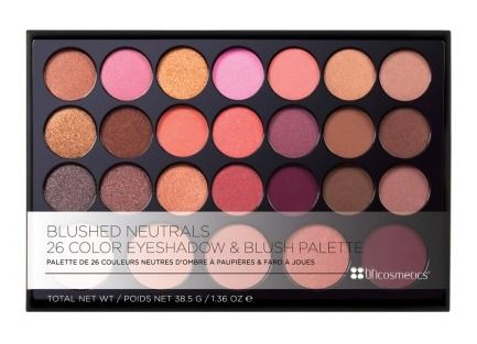 Blushed Neutrals Paleta de Sombras e Blushes - BH COSMETICS