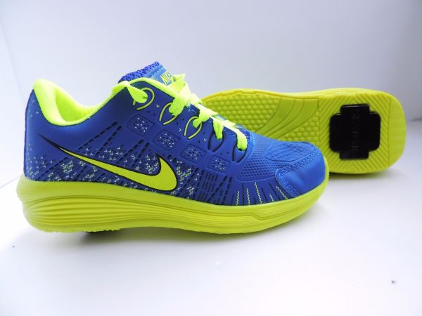 ead1f8b44 Tênis Nike Rodinha Azul c  Verde - Outlet Ser Chic