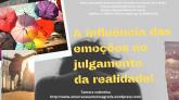 E-book A influência das emoções no julgamento da realidade