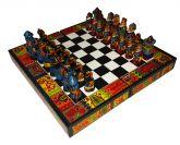 Jogo Xadrez Espanhóis X Incas Grande
