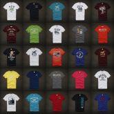 kit 70 pçs camiseta/polo/boné/calça/bermuda jeans/Bermuda praia/Cueca