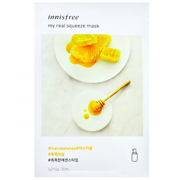 Innisfree My real Squeeze Mask 20 ml - Manuka Honey