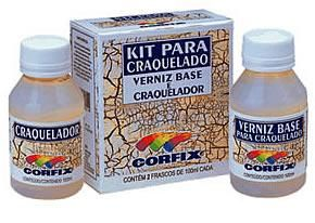 Kit craquelê 100ml incolor Corfix