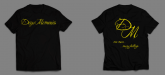 Camiseta - Deep Memories [Preta]