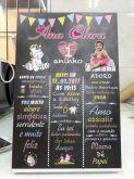 Chalkboard Ana Clara - unicórnio