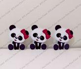 3 Displays de mesa - Panda