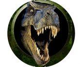 Papel Arroz Dinossauro Redondo 007 1un