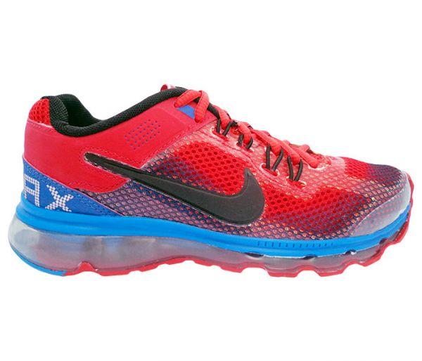 c08d816df2d Tênis Nike Air Max 2014 Vermelho e Azul MOD 11372 - Symonlio