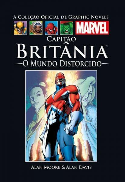 510204 - A Coleção Oficial de Graphic Novels Marvel 03 Capitão Britânia O Mundo Distorcido