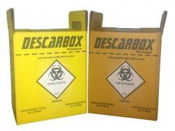 Coletor Perfurocortante 20 Litros Descarbox Ecologic