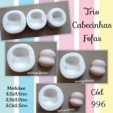 Trio Cabecinhas Fofas