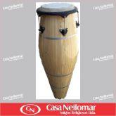 006036 - Atabaque Tradicional Claro 100 cm