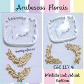 Arabescos Florais- Cód 1174