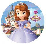 Papel Arroz Princesa Sophia Redondo 005 1un
