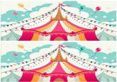 Papel Arroz Circo Faixa Lateral A4 005 1un