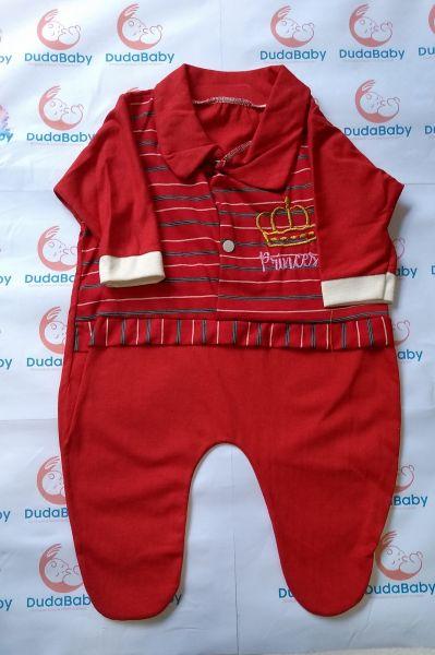 Macacão de Bebê Comprido Fechado - Princesa - tam. P