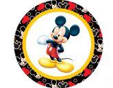 Papel Arroz Mickey Redondo 007 1un