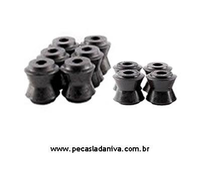 Kit de buchas das Barras Tensoras Traseiras c/ 10 Peças Laika (Novas) Ref. 0127