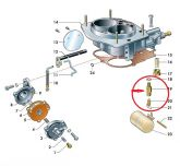 Agulha da Bóia Simples do Carburador Laika (Nova) Ref. 0448