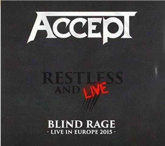 ACCEPT - RESTLESS & LIVE (DVD + 2CDS)