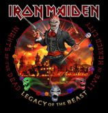 - CD Iron Maiden – Nights Of The Dead – Legacy Of The Beast: Live In Mexico City