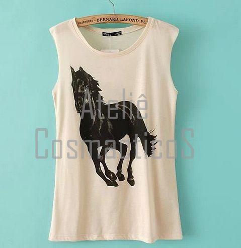 T-Shirt Black Horse