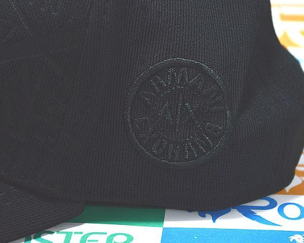 c607dde1a2809 Boné Armani Exchange AX Classic Preto Logo Tri-cores Aba Curva Snapback