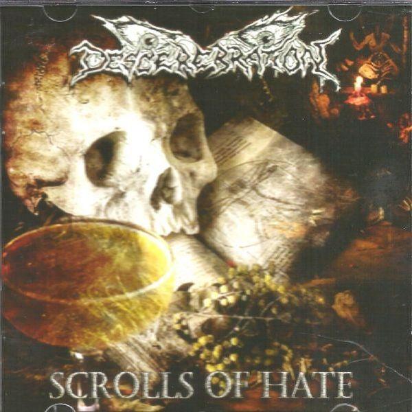 CD Descerebration – Scrolls Of Hate
