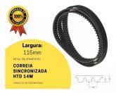 Correia 14M  1064  115mm (1064 14M) Sincronizadora Borracha Rexon