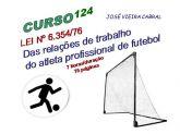 X-124. LEI Nº 6.35476 Das relações de trabalho do atleta profissional de futebol