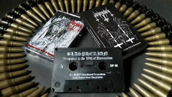 BLASPHERIAN - Allegiance to the Will of Damnation - CASSETE (EP 2007)