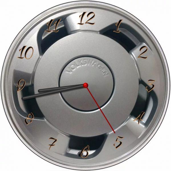 Relógio Parede Imagem Roda Orbital