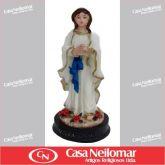 044019 - Imagem de Resina Nossa Senhora de Lourdes